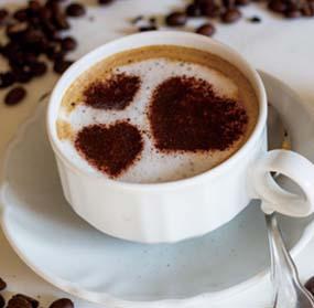 咖啡师培训作品摩卡